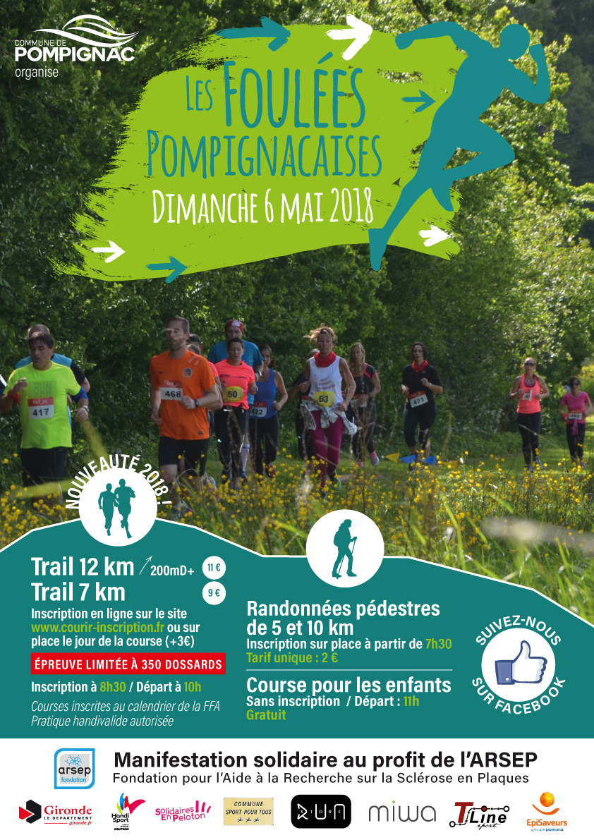 Affiche-Foulees2018 trails A3