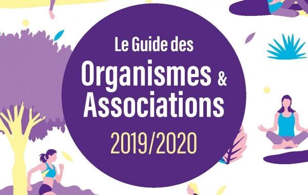 Le Guide des organismes & associations 2019-2020 est sorti !