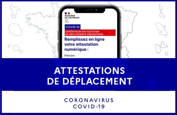 Confinement et attestations